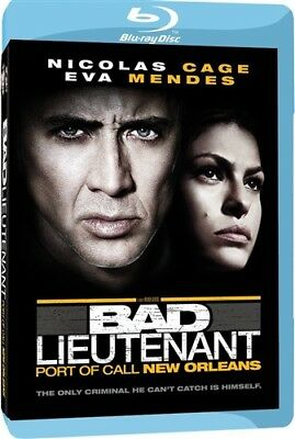 BAD LIEUTENANT PORT OF CALL NEW ORLEANS New Sealed Blu-ray Nicolas Cage