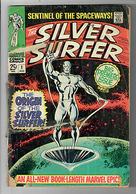 SILVER SURFER #1 (Vol. 1) - Grade 2.0 - First Ongoing Series!
