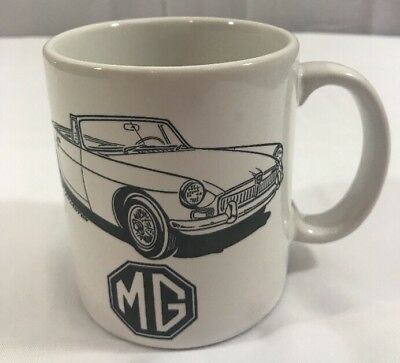 MG Convertible Collectible Coffee Mug MGB 1962-74  EH Lawton