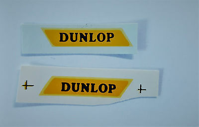 Matchbox 1-75  25a Bedford Van Dunlop Decal / Transfer - Regular Wheels