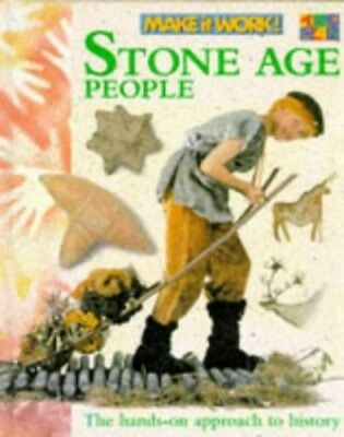 Stone Age People (Make it Work! History) by Haslam, Andrew Hardback Book The