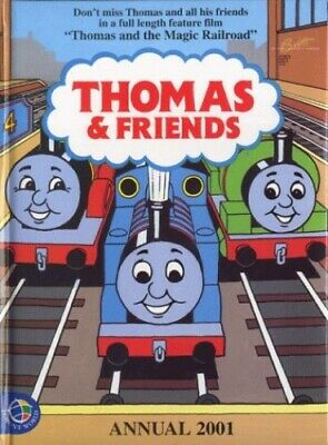 Thomas and Friends Annual 2001 by Unnamed Hardback Book The Cheap Fast Free Post