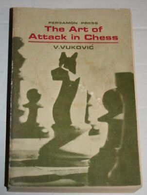 Art of Attack in Chess by Vukovic, Vladimir Paperback Book The Cheap Fast Free