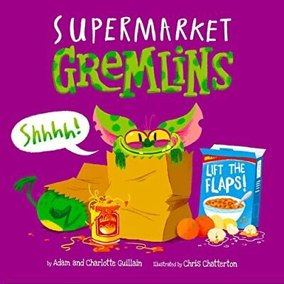 Supermarket Gremlins by Guillain, Charlotte Book The Cheap Fast Free Post