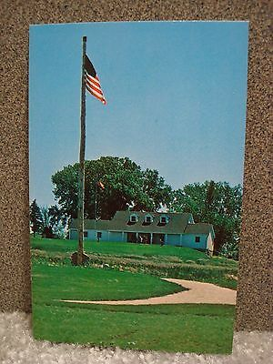 Heritage Hill State Park Visitor Center Green Bay Wisconsin Vintage Postcard