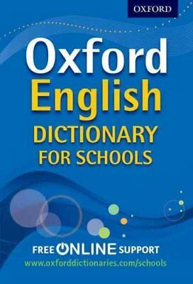 Oxford English Dictionary for Schools by Oxford Dictionaries 9780192756992