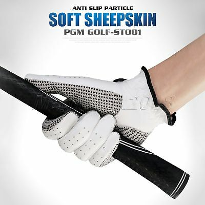 1PC Genuine Cabretta Leather Men Left Right Hand Golf Glove Breathable 22-27Size