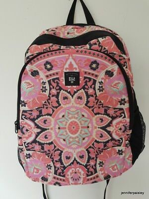 BILLABONG SUNBEAM LADIES FLORAL BACKPACK NEW  Laptop compatible 44x31x31 stylish