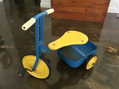 Vintage Cyclops Child's Tricycle (Trike) with cart