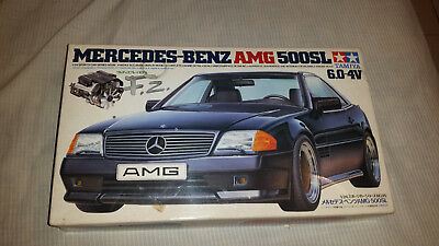 "TAMIYA MERCEDES BENZ AMG 500SL Model Kit NO. 24095 1/24 Scale ""as it"""