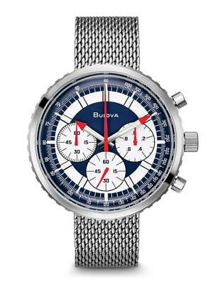 Bulova Special Edition Chronograph White Dial Men's Watch 96K101