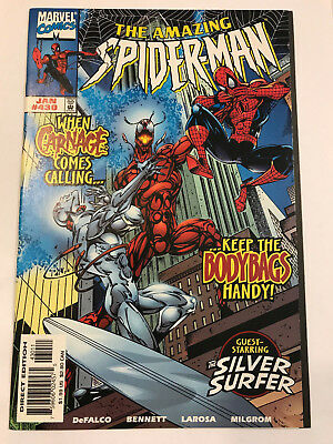 Amazing Spider-Man #430 Marvel Comic 1998 NM Cosmic Carnage/Silver Surfer