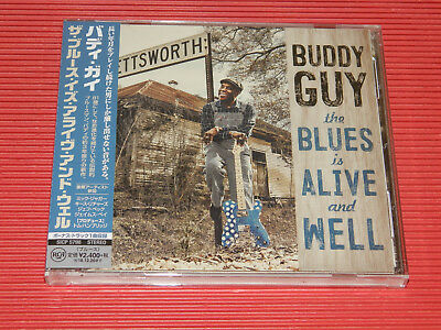2018 JAPAN CD BUDDY GUY The Blues Is Alive And Well with Bonus Track