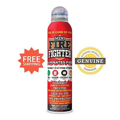Mini Firefighter: Easy to Use Fire Extinguisher for Home, Kitchen, Car