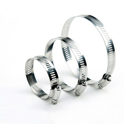 Stainless Steel Hose Clips Pipe Clamps Fuel Hose Pipe Clamp Worm Drive