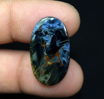 15.70 Cts. 100% Natural Pietersite Gemstone 28*16*4 mm Oval Cabochon