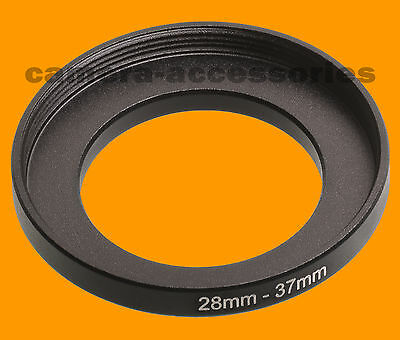 28mm to 37mm 28-37 Stepping Step Up Filter Ring Adapter 28-37mm 28mm-37mm M to F