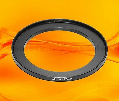 62mm to 77mm 62-77 Stepping Step Up Filter Ring Adapter 62-77mm 62mm-77mm