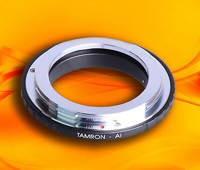 Tamron Adaptall 2 AD2 lens to Nikon F mount camera adapter D3400 D500 D5 D7200