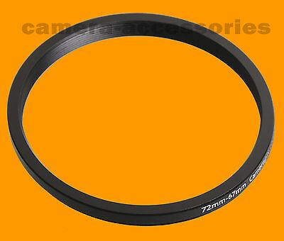 72mm to 67mm 72-67 Stepping Step Down Filter Ring Adapter 72-67mm 72mm-67mm (UK)