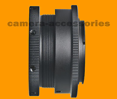 Universal Adapter for Any Lens C/Y PB Leica OM to Sony E-mount NEX Alpha camera