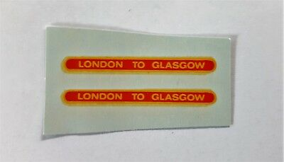 Matchbox 1-75 No 21 Long Distance Coach Decal/Transfer/Sticker- Regular Wheels