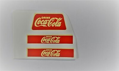 Matchbox 1-75 No 37 Coca Cola Truck Decal/Transfer/Sticker- Regular Wheels