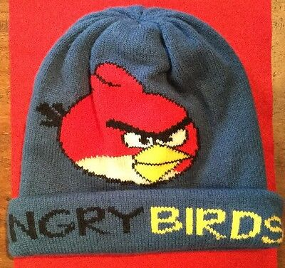 Collectable Authentic Kitsch Large Angry Birds Character Beanie Hat