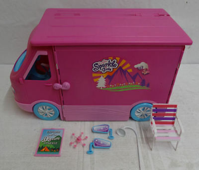 Sparkle Girlz Camper Van RRP 50.00 lot B5379 884978750897