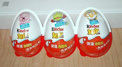 Set Completo Gusci Vuoti Pororo The Little Penguin Kinder Joy Hong Kong 2017