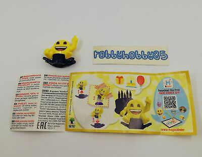 Se787 Emojoy - Timbro + Bpz Kinder Merendero Italia 2018 Emoji Collection
