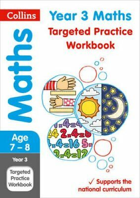 Year 3 Maths Targeted Practice Workbook 2019 Tests by Collins KS2 9780008201692