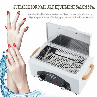 Portable Dry Heat Sterilizer QKtoclave Dental Nail Tools Utensils Beauty BT