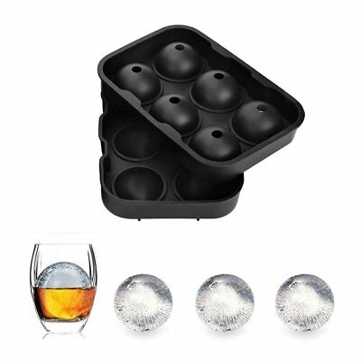 Silicone Ice Cube Trays Sphere Round Ice Ball Maker Large Square Cube Mold MS