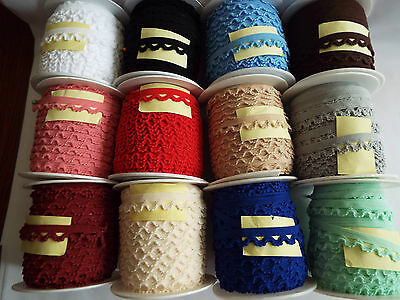 1m-Decorative elastic lace,stretch trim 16mm wide, for sewing,lingerie edge  ,