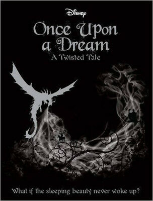 Disney Twisted Tales: Once Upon a Dream (Novel) (A Twisted Tale), New, Liz Brasw