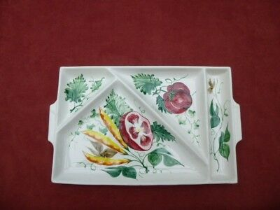 Hand Painted italian Serving Nibbles Dish Plate