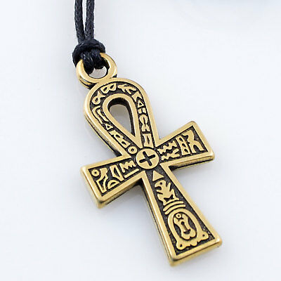 Ankh Pendant Cross Egyptian Jewelry Ancient Amulet Talisman HANDMADE of Brass