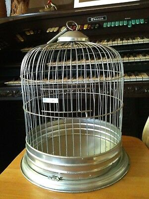 Vintage Antique Leon Bird Cage Dome Top Style COOL!