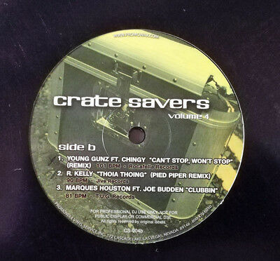 "Various - Crate Savers Volume 4 Vinyl 12"" 0715197"