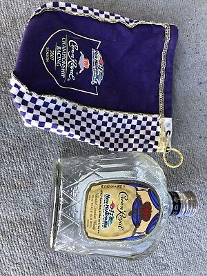 Crown Royal New Hampshire International Championship Racing 2007 Bottle and Bag