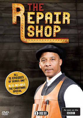 The Repair Shop: Series One DVD (2018) Carla-Maria Lawson cert E 3 discs