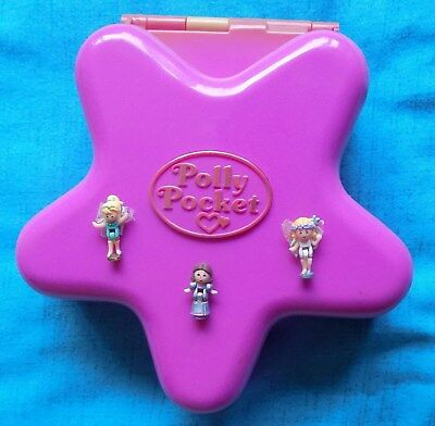 Vintage Polly Pocket 1993 Fairylight Wonderland 100% Complete & Lights Up