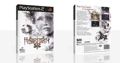 Haunting Ground PS2 Replacement Game Case Box + Cover Art Work (No Game)