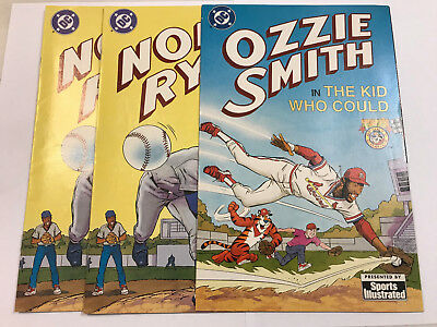 Nolan Ryan Ozzie Smith Tony's Sports DC Comics Sports Illustrated 1992 Lot 3
