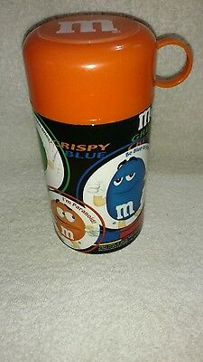 M&M's Orange Thermos
