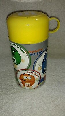 M&M's Yellow Thermos