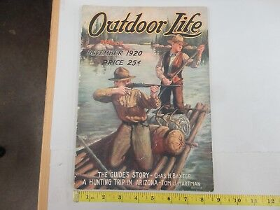 Outdoor Life December 1920 Vintage Issue