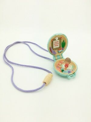 Vintage Polly Pocket 1991 Bluebird Toys Little Lulu Seaside Locket Complete!