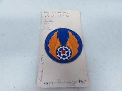 Post WWII U.S. patch Air Force named.